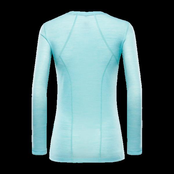 Koszulka termiczna damska ABIGAR LONG SLEEVE BLACKYAK