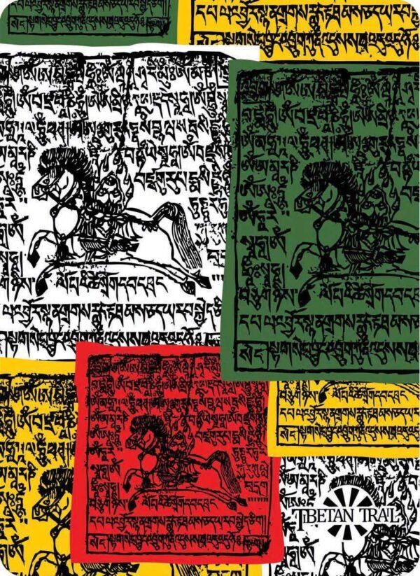 Chusta wielofunkcyjna 8 IN 1 TYBETAN FLAGS 4FUN