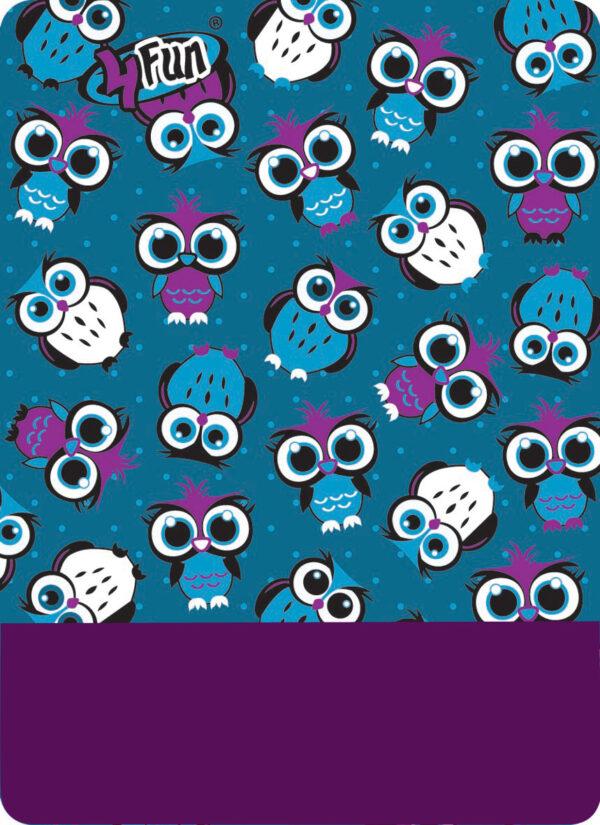Chusta wielofunkcyjna 8 IN 1 OWL BLUE KID 4FUN