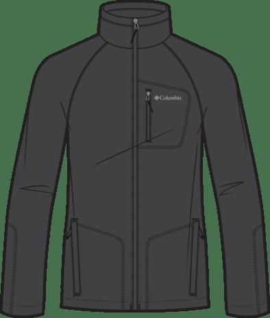 POLAR MĘSKI FAST TREK™ II FULL ZIP FLEECE COLUMBIA