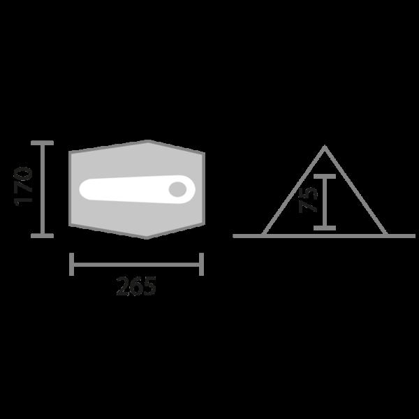 NAMIOT 1-OSOBOWY BLACKTHORN 1 HIGHLANDER
