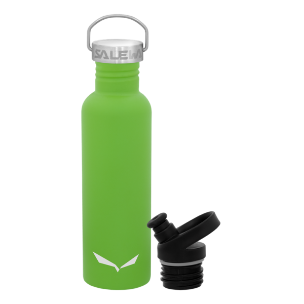 AURINO STAINLESS STEEL BOTTLE 0,75 L DOUBLE LID SALEWA